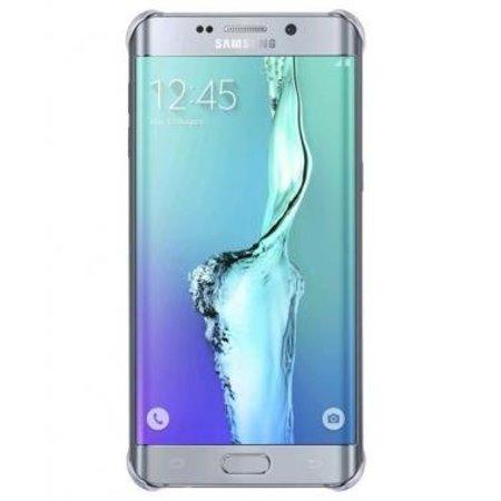 Samsung Samsung Glossy Cover Zilver voor Samsung Galaxy S6 Edge+