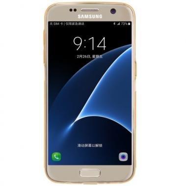 Nillkin Nillkin Nature TPU Case Bruin voor Samsung Galaxy S7