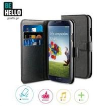 BeHello Wallet Case Zwart voor Samsung Galaxy S4