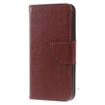 Wallet Book Case Bruin voor Apple iPhone 7/8