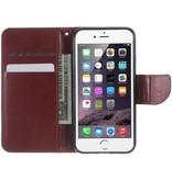 Mobiware Wallet Book Case Bruin voor Apple iPhone 7/8