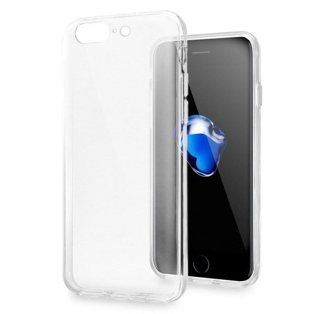 Just in Case Just in Case Apple iPhone 7/8 Plus Slimline TPU case (Clear)