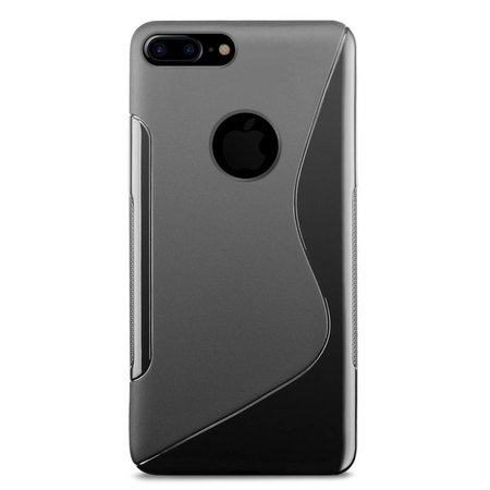 Just in Case Just in Case Apple iPhone 7/8 Plus S-Style TPU case (Black)