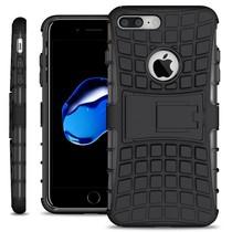 Just in Case Rugged Hybrid Apple iPhone 7/8 Plus Case (Black)