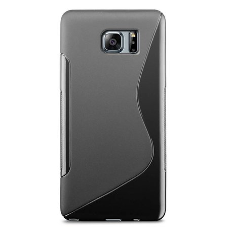 Just in Case Just in Case Samsung Galaxy Note 7 S-Style TPU case (Black)