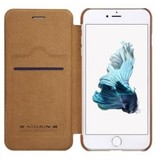 Nillkin Nillkin QIN Wallet Book Case Bruin Apple iPhone 7/8 Plus