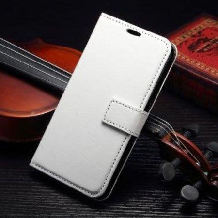 Mobiware Wallet Book Case Wit voor Samsung Galaxy S7 Edge