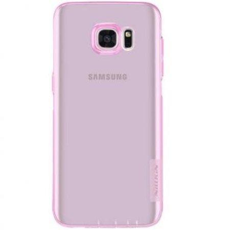 Nillkin Nillkin Nature TPU Case Roze voor Samsung Galaxy S7 Edge