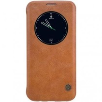 Nillkin QIN Circle Book Case Bruin voor Samsung Galaxy S7 Edge