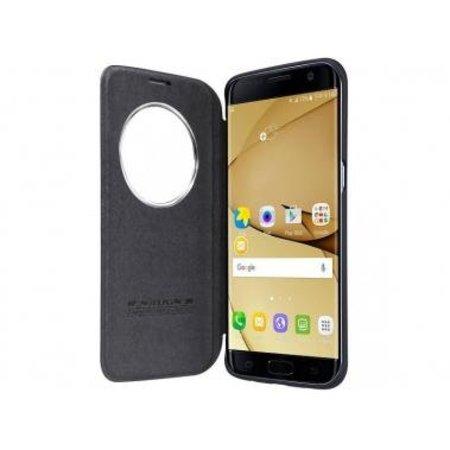 Nillkin Nillkin QIN Circle Book Case Zwart voor Samsung Galaxy S7 Edge