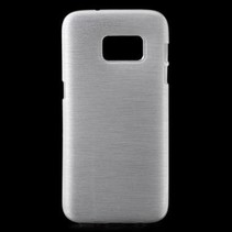 TPU Case Brushed Wit voor Samsung Galaxy S7