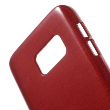 Mobiware TPU Case Brushed Rood voor Samsung Galaxy S7