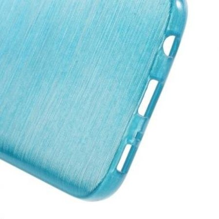 Mobiware TPU Case Brushed Blauw voor Samsung Galaxy S7