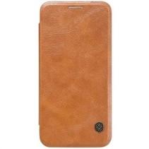 Nillkin QIN Wallet Book Case Bruin voor Samsung Galaxy S7