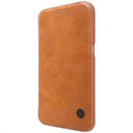 Nillkin Nillkin QIN Wallet Book Case Bruin voor Samsung Galaxy S7