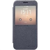 Nillkin Sparkle Smart View Cover Zwart voor Samsung Galaxy S7