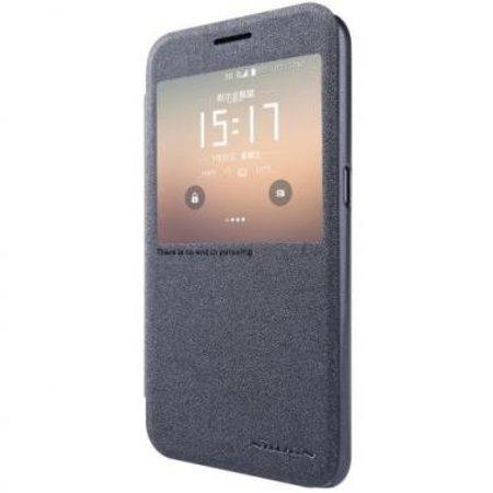 Nillkin Nillkin Sparkle Smart View Cover Zwart voor Samsung Galaxy S7