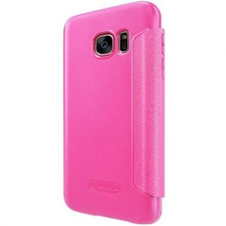 Nillkin Nillkin Sparkle Smart View Cover Rose voor Samsung Galaxy S7