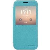Nillkin Sparkle Smart View Cover Blauw voor Samsung Galaxy S7