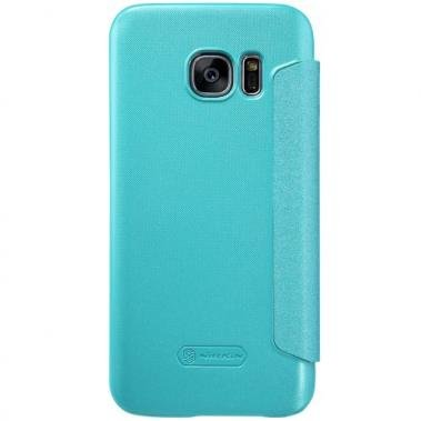 Nillkin Nillkin Sparkle Smart View Cover Blauw voor Samsung Galaxy S7