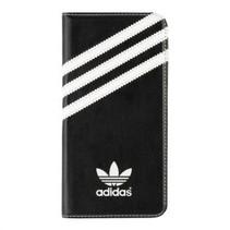 Adidas Booklet Case Zwart/Wit voor Apple iPhone 6/6S