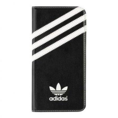 Adidas Adidas Booklet Case Zwart/Wit voor Apple iPhone 6/6S