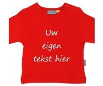 shirt met eigen tekst lange mouw