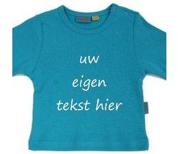shirt met eigen tekst of naam in diverse hippe kleuren