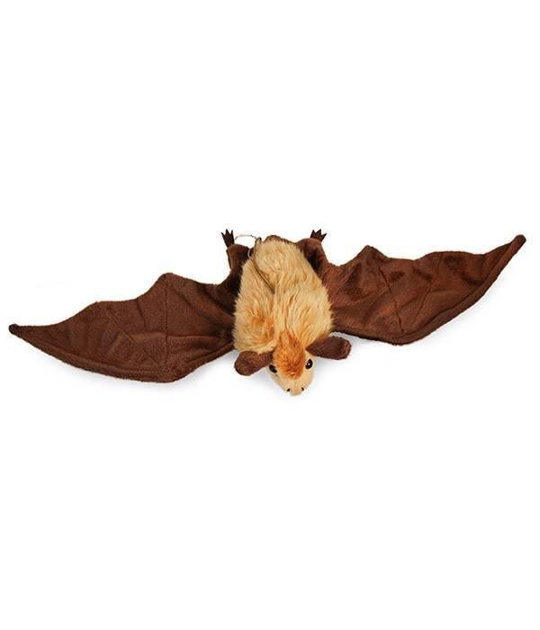 Vleermuis knuffel (bruin of zwart)