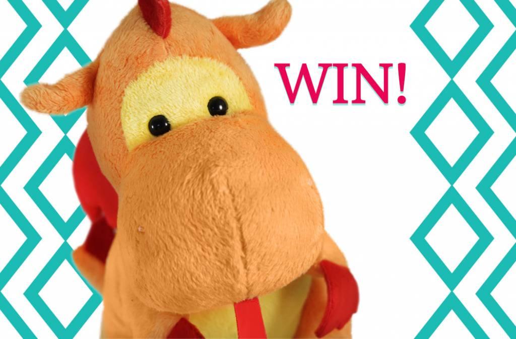 WINACTIE - Geef deze Draak knuffel een naam en win!