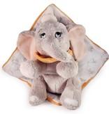 Disney: Dombo Disney Dombo baby knuffel met doek