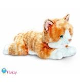 Kat knuffel rood 'Amber'