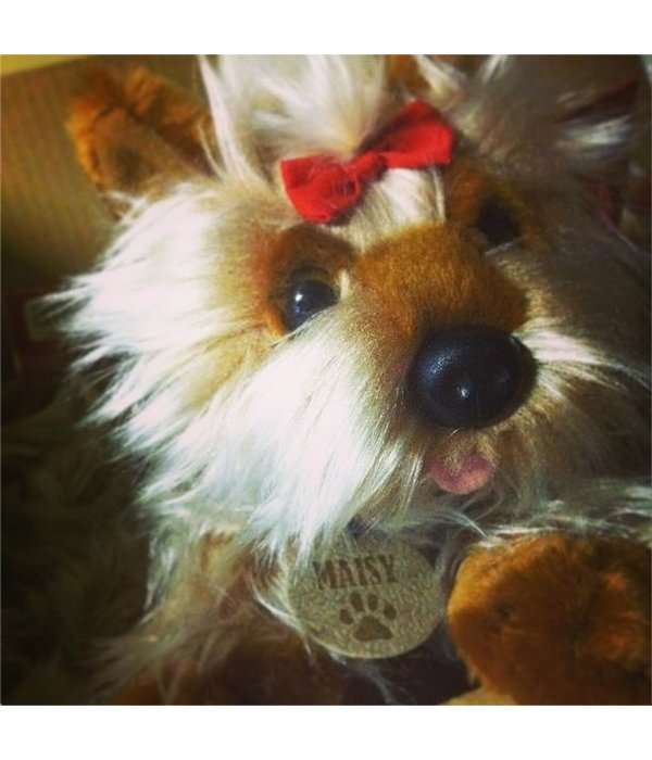 Hond knuffel Yorkshire Terriër Yorkie 'Maisy'
