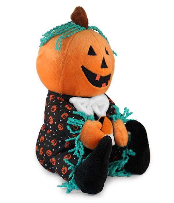 Halloween knuffel Mr Pumpkin Head (pompoen)