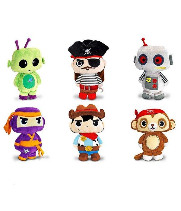 Toybox (by Keel Toys) Toybox knuffel: Kapitein Piraat