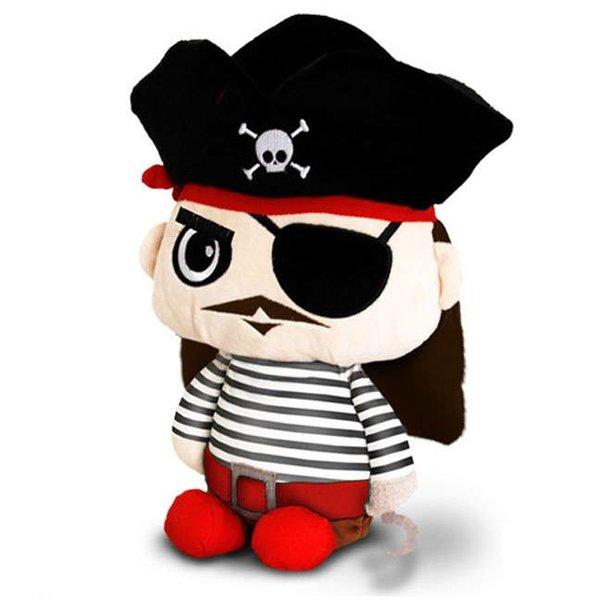 Toybox knuffel: Kapitein Piraat
