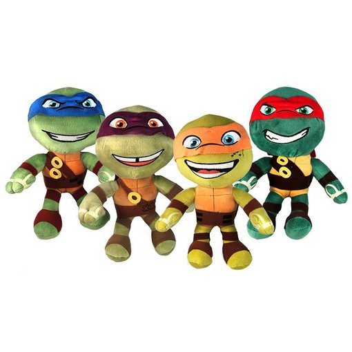 Teenage Mutant Ninja Turtles Teenage Mutant Ninja Turtles knuffel: Leonardo, Donatello, Michelangelo of Raphael