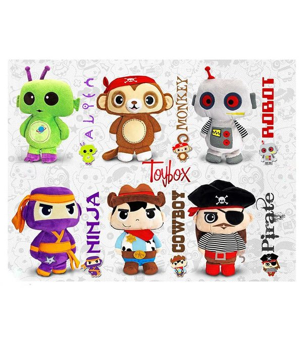 Toybox (by Keel Toys) Toybox knuffel: Piraat (aap)