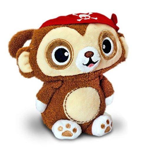 Toybox (by Keel Toys) knuffel: Piraat (aap)