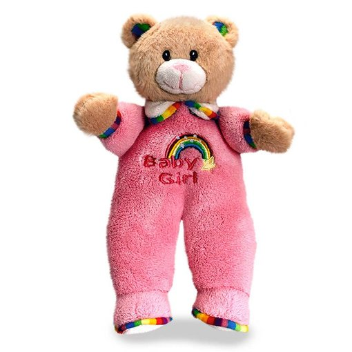 Teddybeer Baby knuffel (Rainbow Collection)