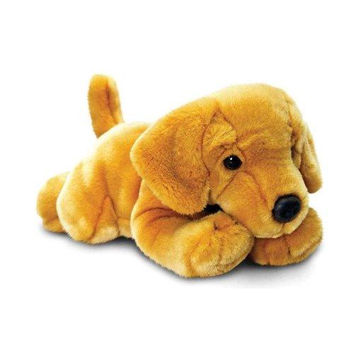 Hond blonde Labrador knuffel 'Monty'