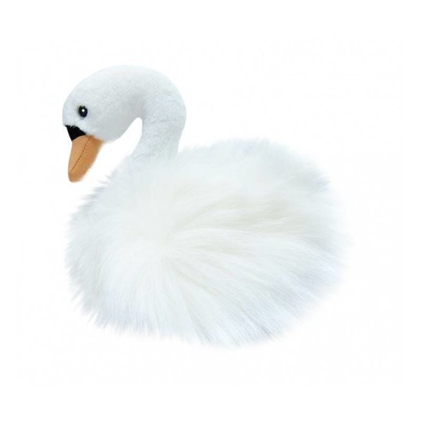 Witte zwaan knuffel