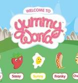 Yummy World Yummy World Spiegelei knuffel Sunny