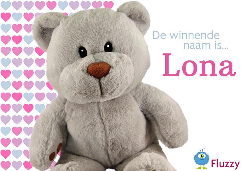 Teddybeer winactie winnaar
