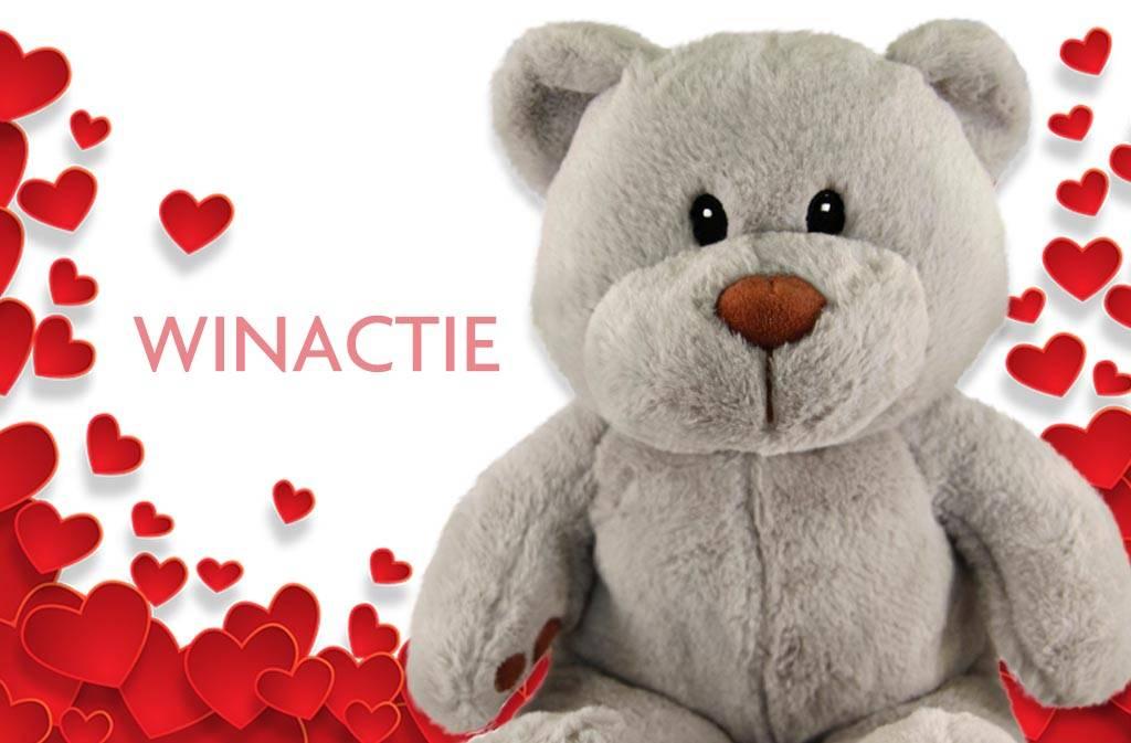 Valentijnsdag winactie: geef deze Teddybeer een naam en win!