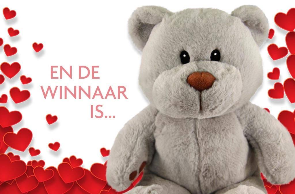 Met Valentijnsdag een naam voor onze Teddybeer. En de winnaar is…