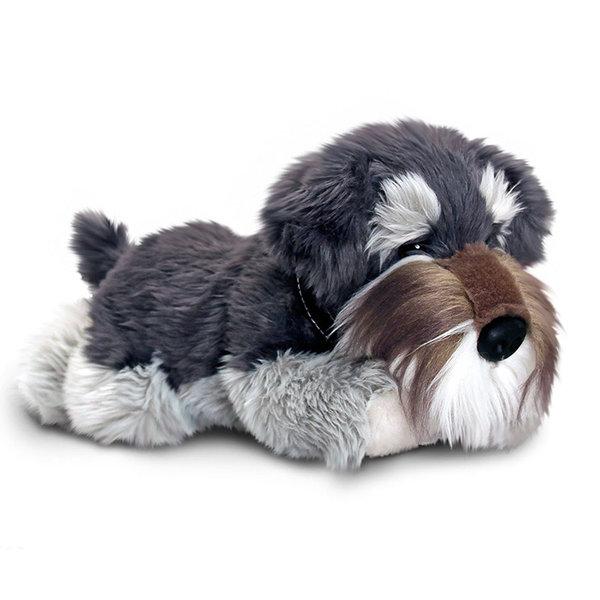 Hond knuffel Grijze Schnauzer 'Fergus'