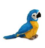 Papegaai knuffel (blauwgele ara)