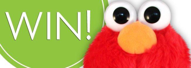 Geef Fluzzy de gouden tip en win een Elmo knuffel!