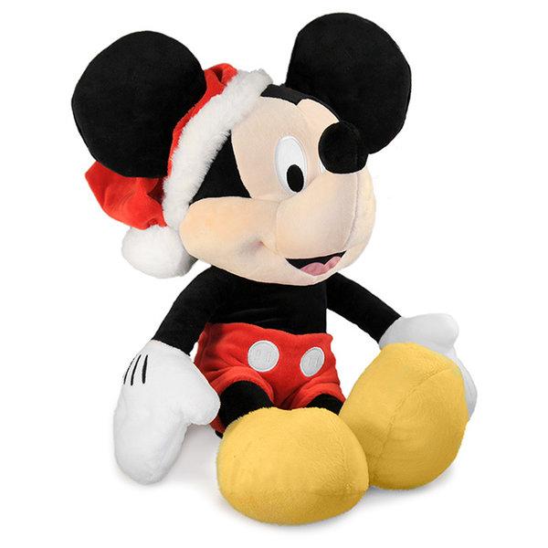 Disney Kerst knuffel Mickey Mouse